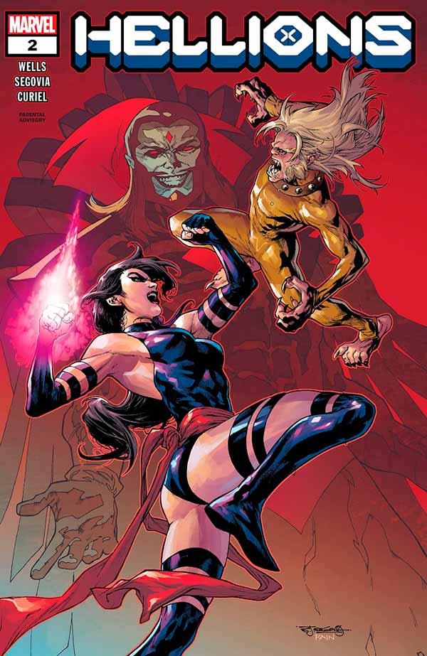 Hellions Vol 1 #2 Хулиганы Том 1 #2 читать скачать комиксы онлайн