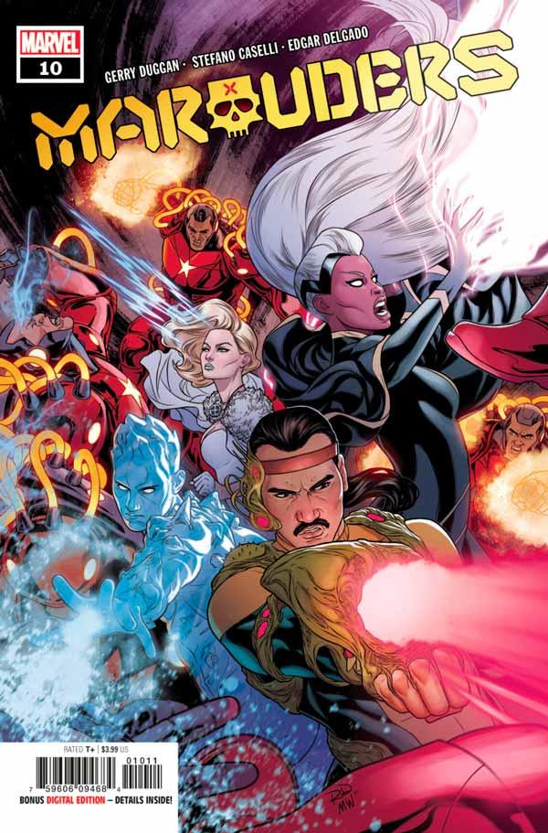 Marauders Vol 1 #10 Мародёры Том 1 #10 скачать/читать комиксы онлайн