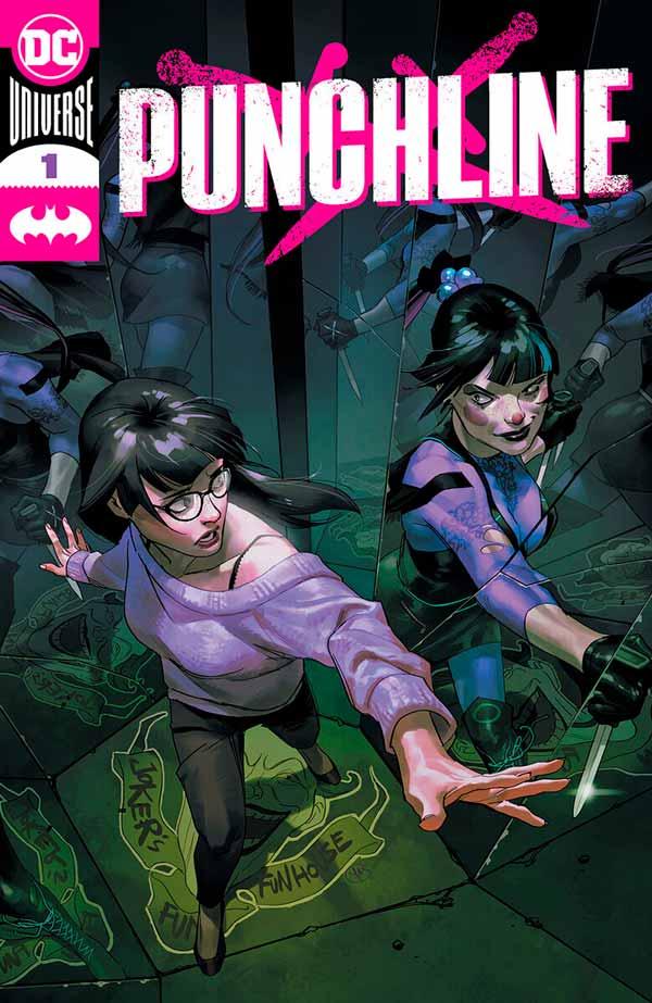 Punchline #1 Vol 1, персонаж комиксов Панчлайн, комиксы Панчлайн, читать комиксы панчлайн