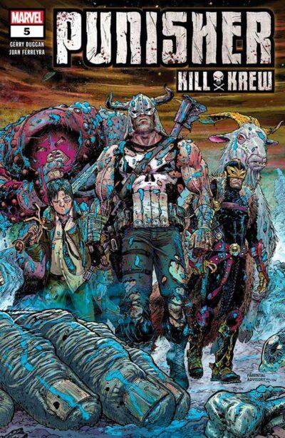Punisher Kill Krew #5 Каратель и Отряд Убийц #5 скачать/читать онлайн