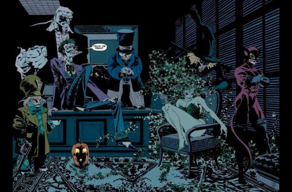 Бэтмен Долгий Хэллоуин, комиксы Бэтмен, Batman: The Long Halloween Vol 1