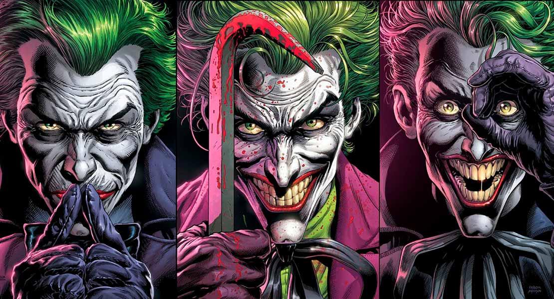 Бэтмен Три Джокер читать комиксы онлайн, Batman: Three Jokers
