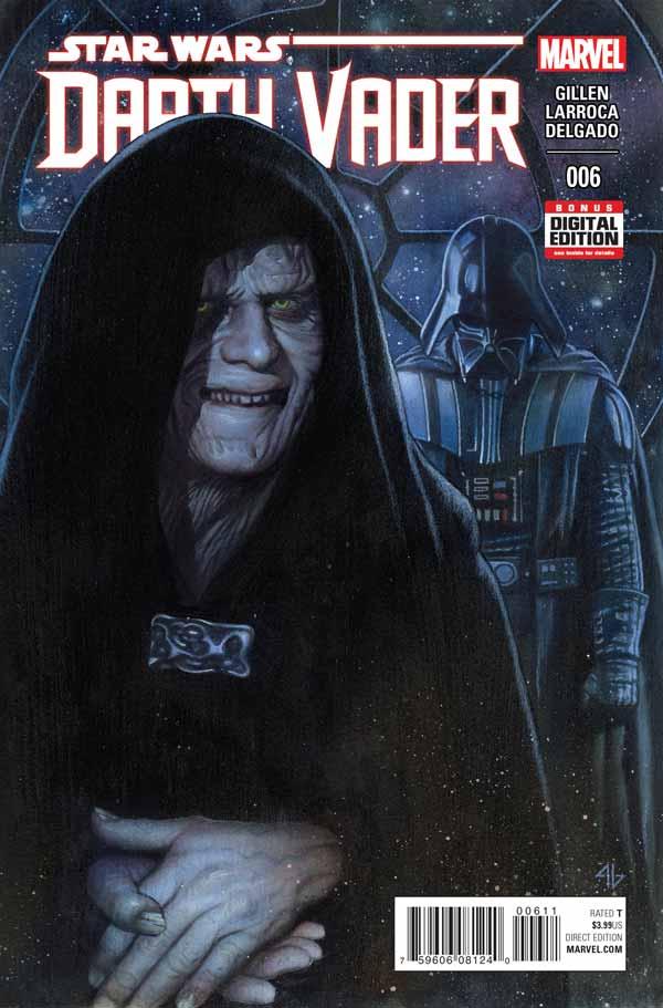 Звёздные войны: Дарт Вейдер Том 1 #6, Darth Vader (2015) #6, комиксы Звёздные войны