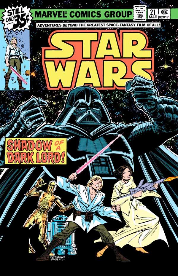 Star Wars #21 (1977) Звездные Войны #21 скачать/читать комиксы онлайн