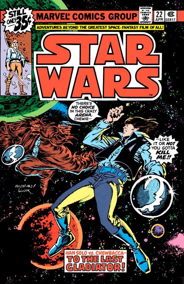 Star Wars #22 (1977) Звездные Войны #22 скачать/читать комиксы онлайн