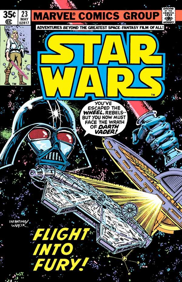 Star Wars #23 (1977) Звездные Войны #23 скачать/читать комиксы онлайн