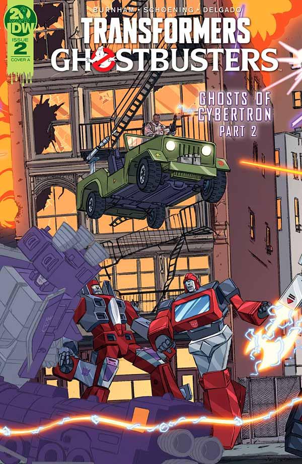 Transformers Ghostbusters #2 (2019) Трансформеры Охотники за Привидениями #2 комиксы читать онлайн