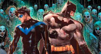 Дик Грейсон, Бэтмен Война Джокера, Nightwing #74, комиксы про Найтвинга