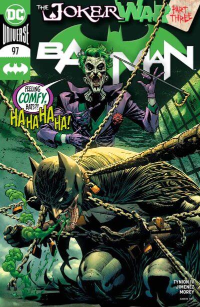 Бэтмен Том 3 #97, Batman Vol 3 #97 читать скачать комиксы онлайн