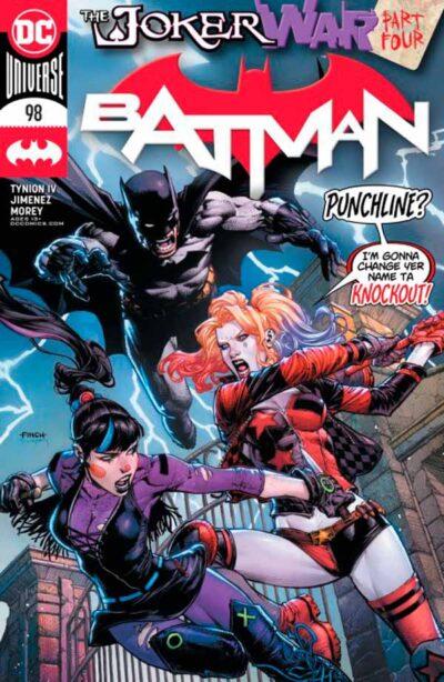 Бэтмен Том 3 #98, Batman Vol 3 #98 читать скачать комиксы онлайн