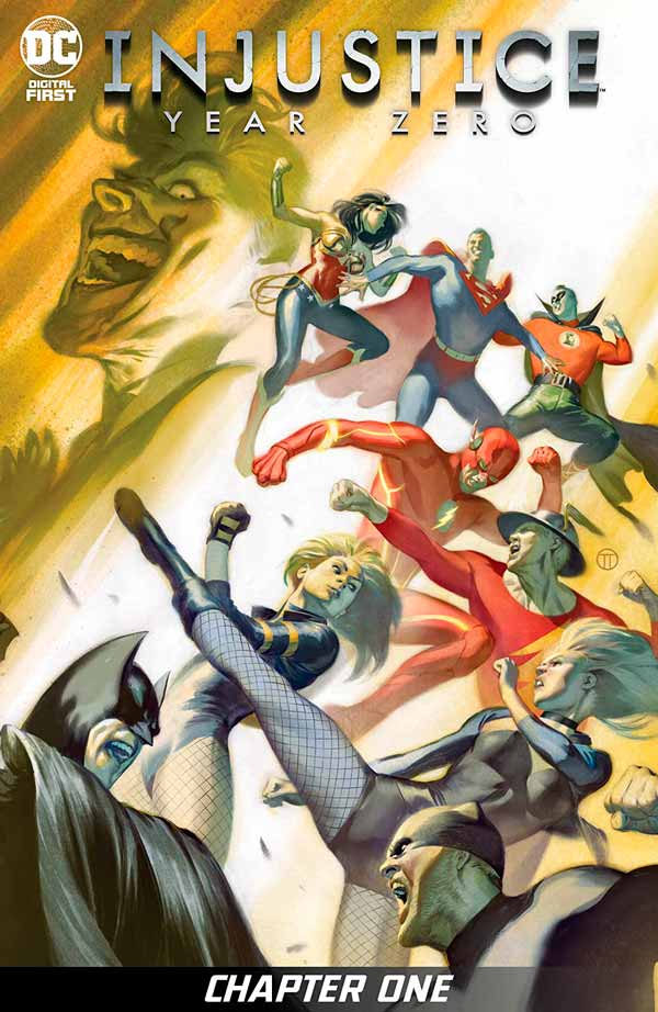 Несправедливость: Нулевой Год Том 1 #1, Injustice: Year Zero Vol 1 #1 читать скачать комиксы онлайн