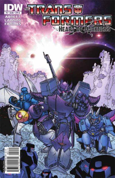 Трансформеры Том 4: Сердце тьмы #1, Transformers Vol. 4: Heart of Darkness #1 читать скачать комиксы онлайн