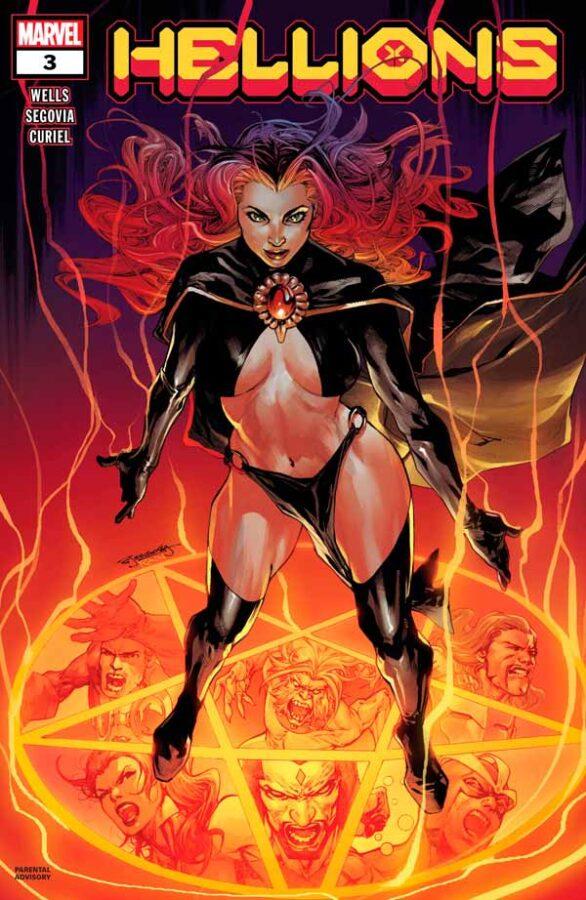 Hellions Vol 1 #3 Хулиганы Том 1 #3 читать скачать комиксы онлайн