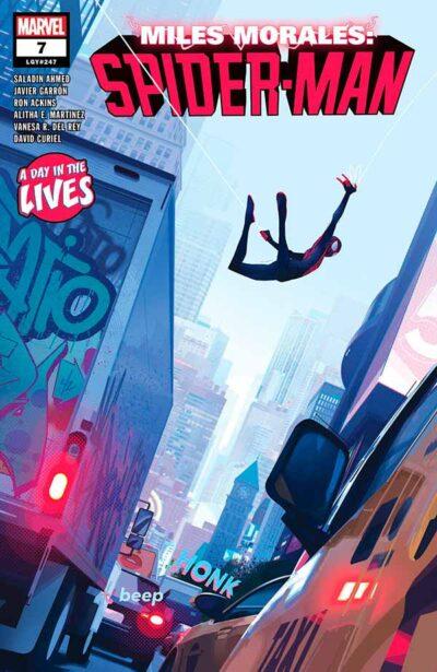 Miles Morales: Spider-Man Vol 1 #7 Майлз Моралес: Человек-Паук Том 1 #7 читать скачать комиксы онлайн