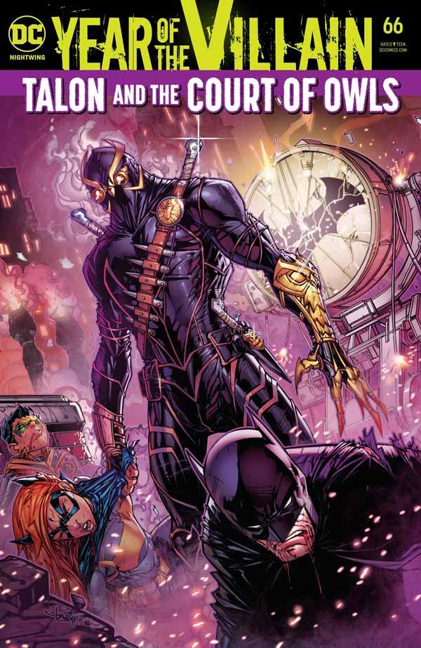 Найтвинг Том 4 #66, Nightwing Vol 4 #66 читать скачать комиксы