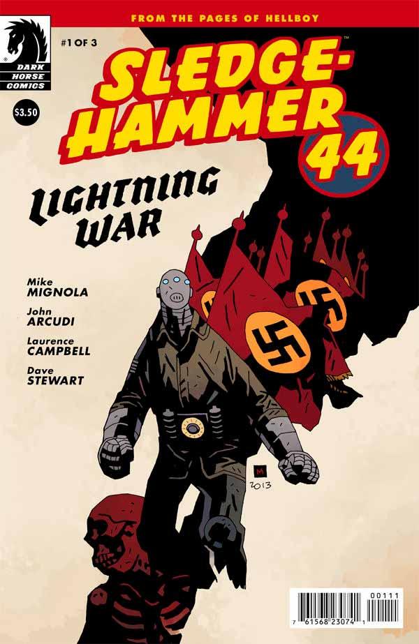 Молотобоец 44 - Пылающая война #1, Sledgehammer 44 Lightning War (2013) #1 читать скачать комиксы онлайн