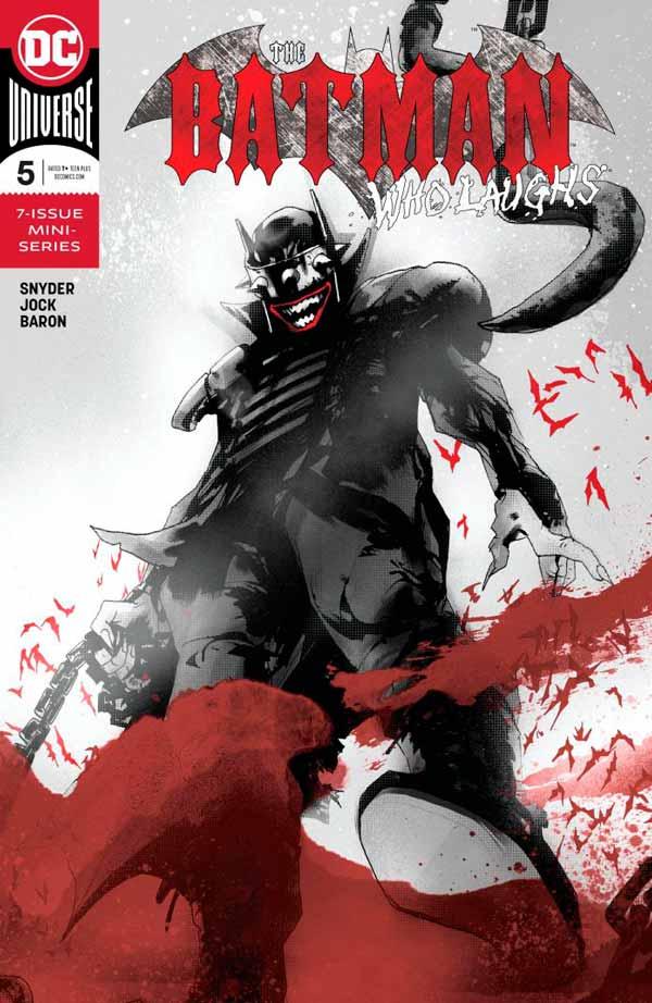 Читать комиксы Бэтмен, который смеется #5 онлайн, комиксы Бэтмен