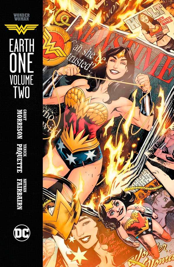 Wonder Woman: Earth One Vol. 2, Чудо-женщина: Земля Один Том 2