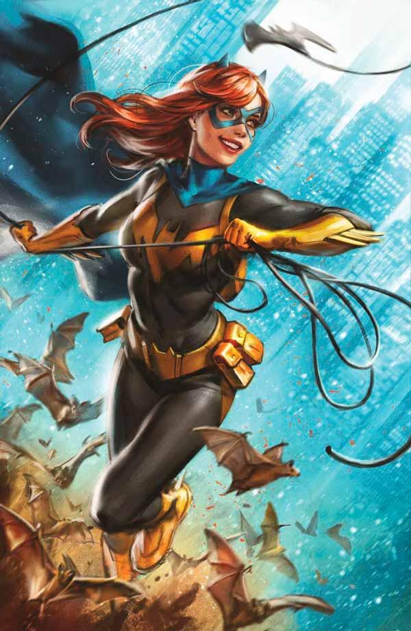 Бэтгёрл #48, Batgirl #48, комиксы онлайн, Война Джокера