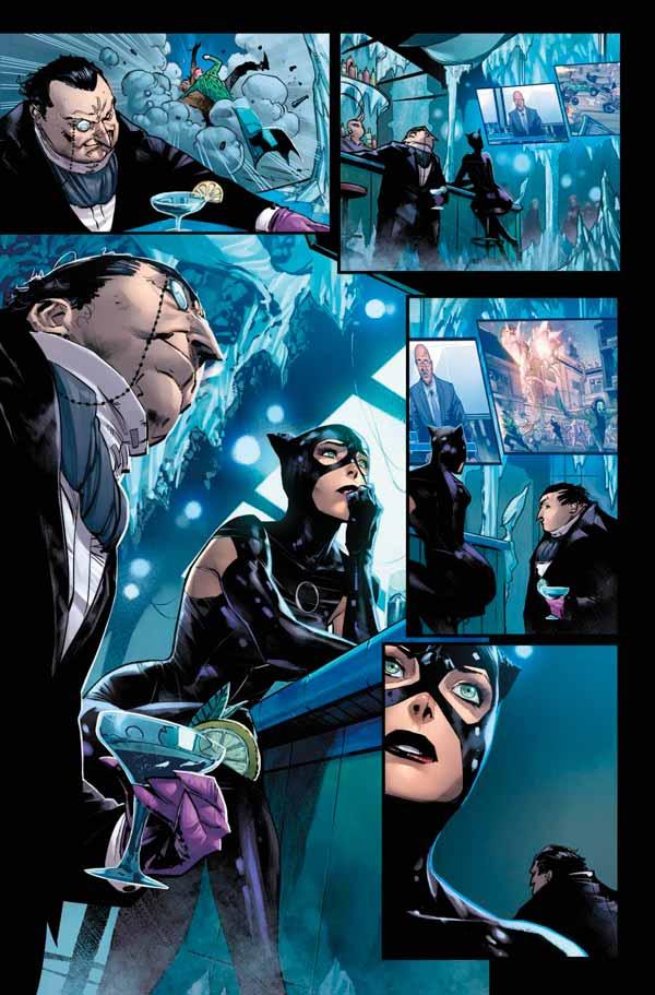 Женщина-кошка и Пингвин, Бэтмен #98 Том 3