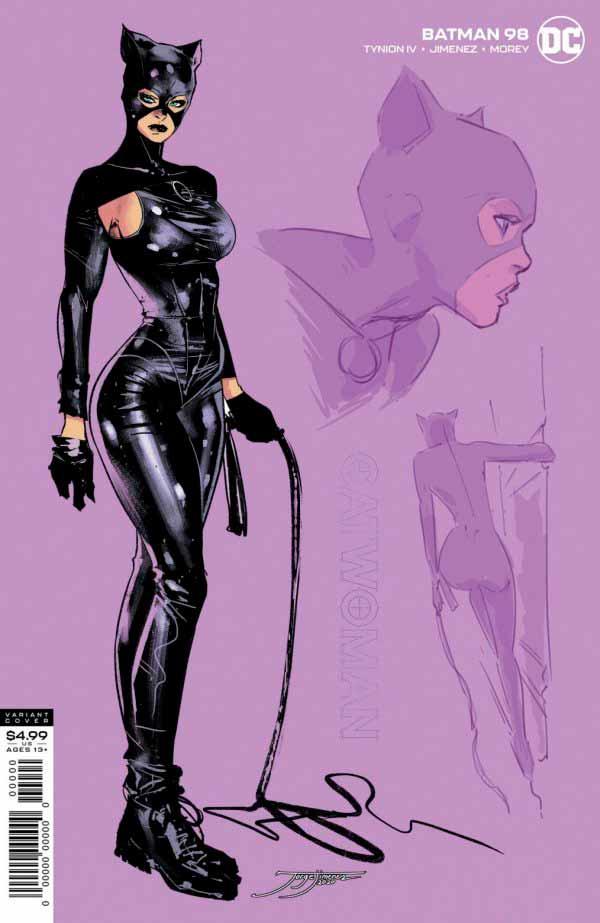 Бэтмен #98 Том 3 альтернативная обложка