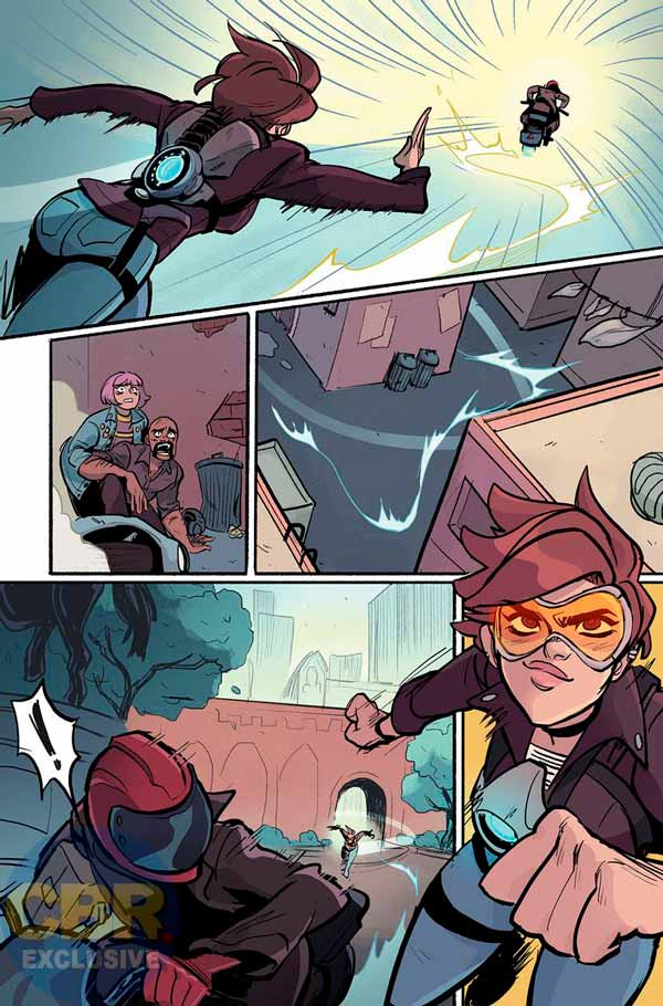 Overwatch: Tracer — London Calling #1, Овервотч Трейсер - Зов Лондона #1 комиксы Близзард