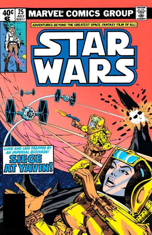 Star Wars #25 (1977) Звездные Войны #25 скачать/читать комиксы онлайн