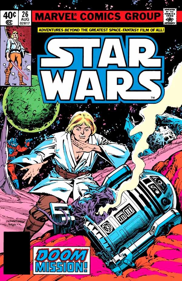 Star Wars #26 (1977) Звездные Войны #26 скачать/читать комиксы онлайн
