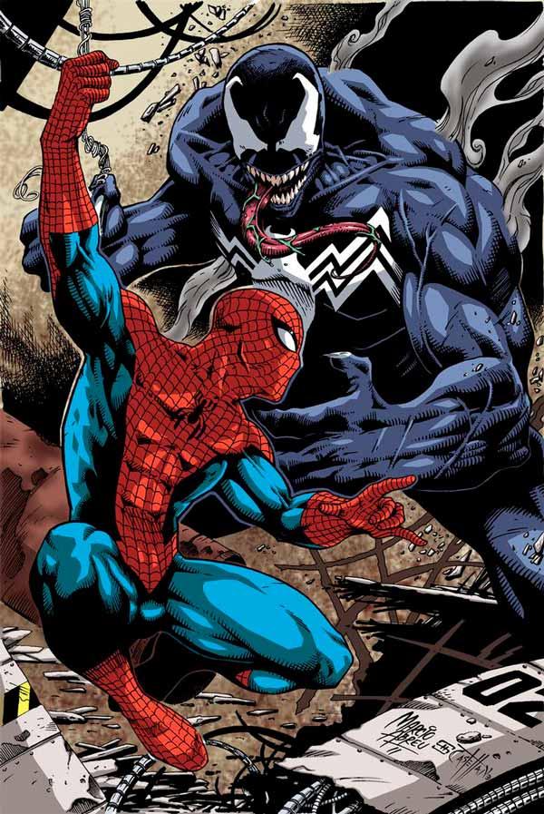 spider man vs venom, Человек-Паук против Венома