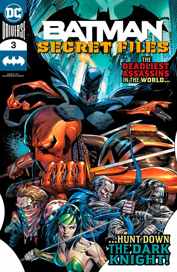 Batman Secret Files Vol 1 #2, Бэтмен Секретные Материалы Том 1 #2 читать скачать комиксы онлайн