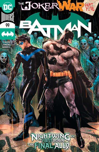 Бэтмен Том 3 #99, Batman Vol 3 #99 читать скачать комиксы онлайн