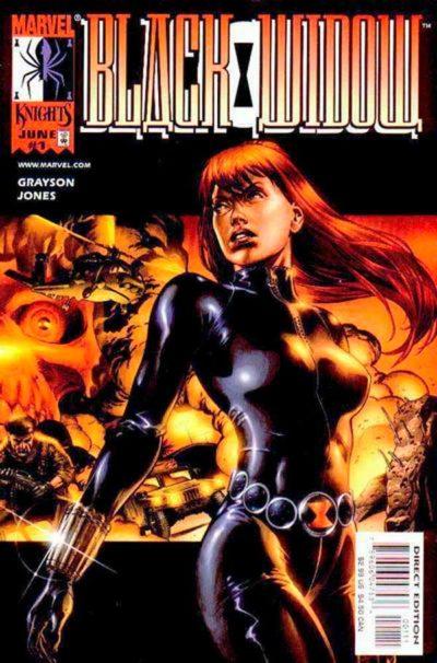 Черная вдова Том 1 #1 (1999), Black Widow Vol 1 #1 1999 читать скачать комиксы онлайн