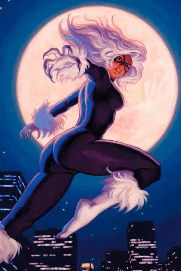 Felicia Hardy, Фэиция Харди биография персонажа комиксов Marvel, Black Cat, Чёрная кошка