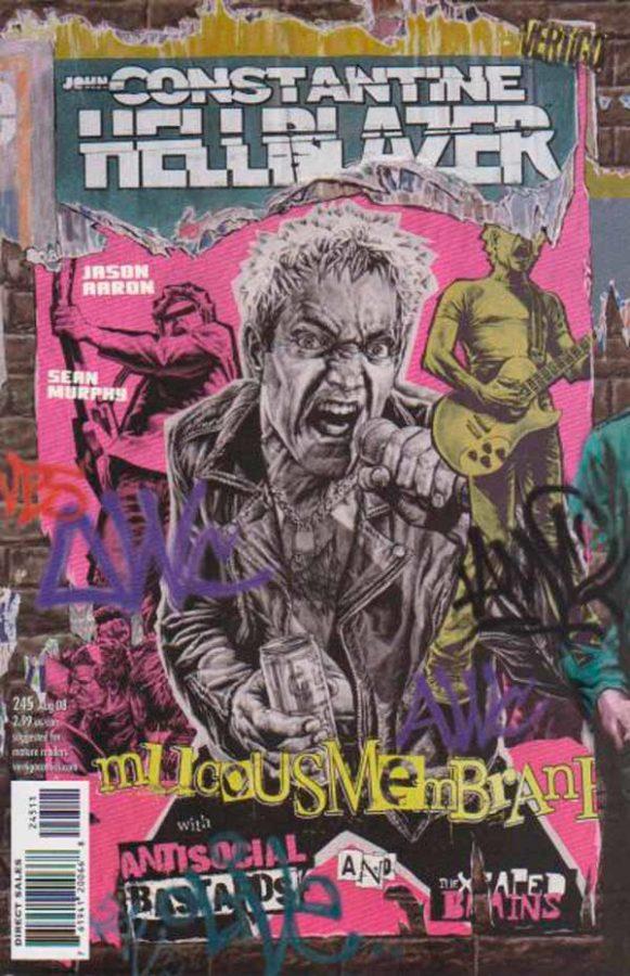Hellblazer Vol 1 #245, Джон Константин Посланник Ада Том 1 #245 читать скачать комиксы онлайн