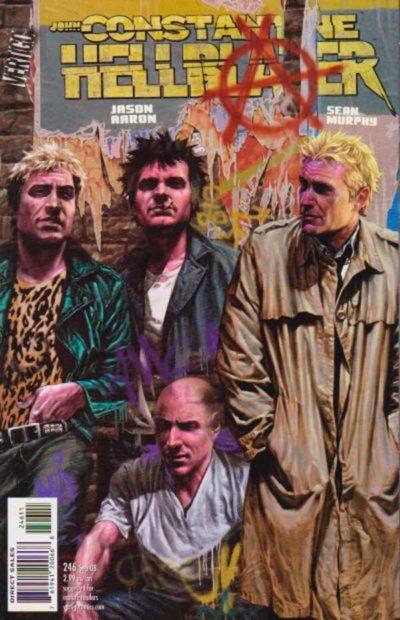 Hellblazer Vol 1 #246, Джон Константин Посланник Ада Том 1 #246 читать скачать комиксы онлайн
