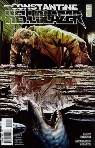 Hellblazer Vol 1 #247, Джон Константин Посланник Ада Том 1 #247 читать скачать комиксы онлайн