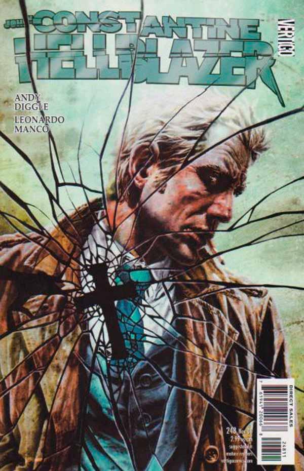Hellblazer Vol 1 #248, Джон Константин Посланник Ада Том 1 #248 читать скачать комиксы онлайн