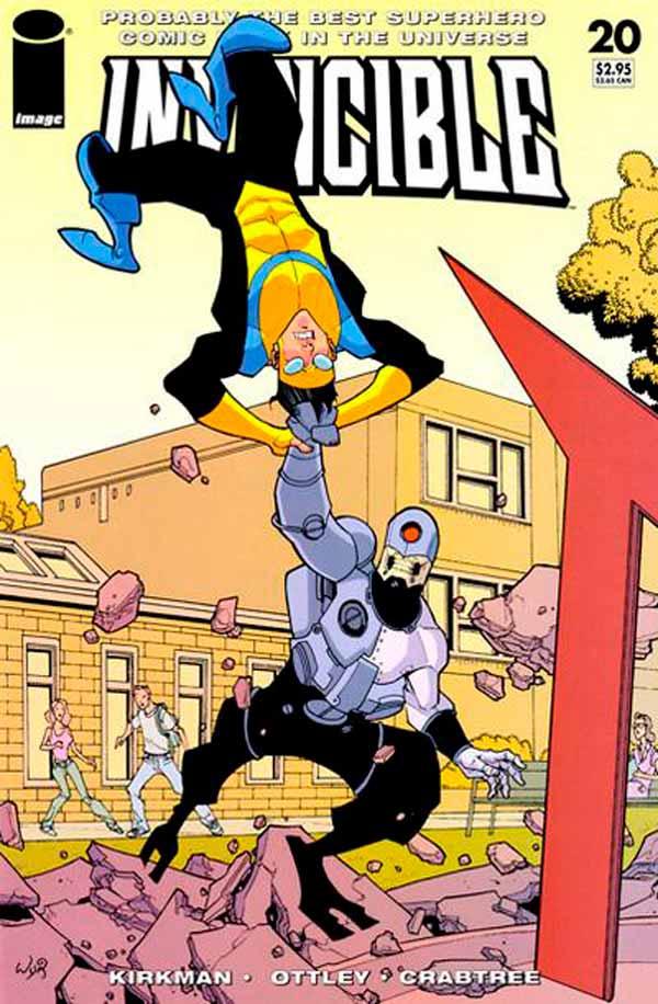 Неуязвимый (Invincible) #20 читать скачать комиксы онлайн