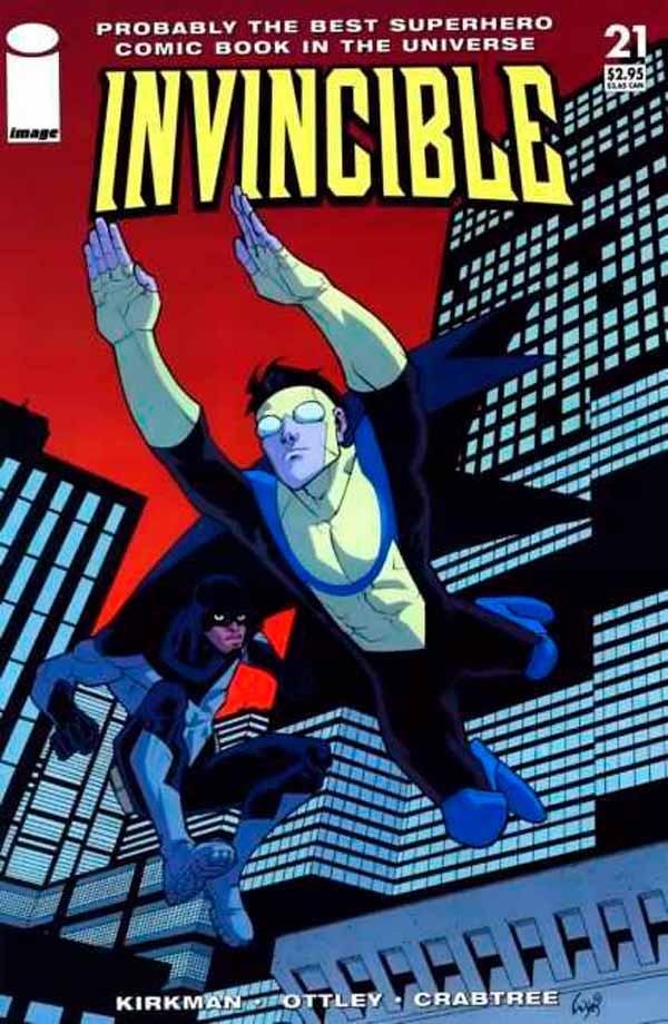 Неуязвимый (Invincible) #21 читать скачать комиксы онлайн