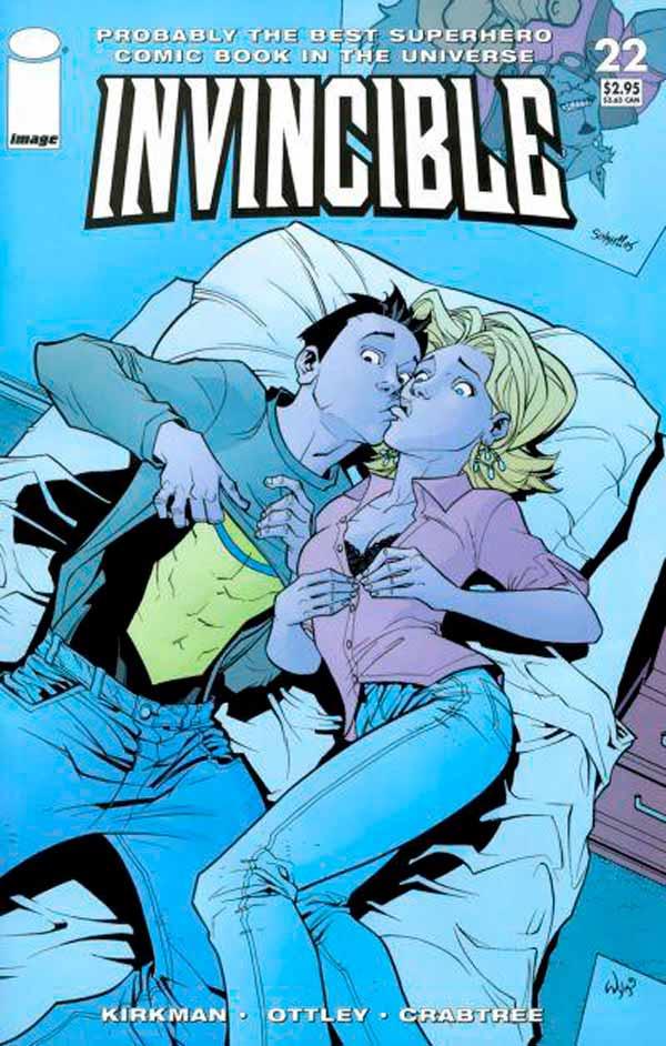 Неуязвимый (Invincible) #22 читать скачать комиксы онлайн