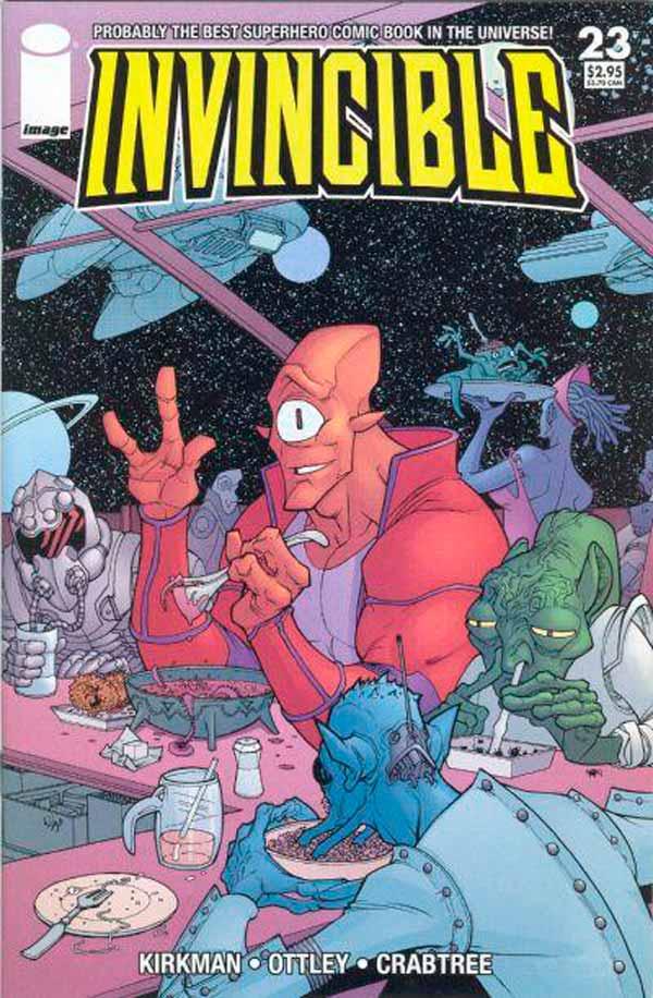 Неуязвимый (Invincible) #23 читать скачать комиксы онлайн, Марк Грейсон Непобедимый комиксы онлайн
