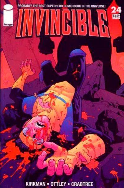 Неуязвимый (Invincible) #24 читать скачать комиксы онлайн, Марк Грейсон Непобедимый комиксы онлайн