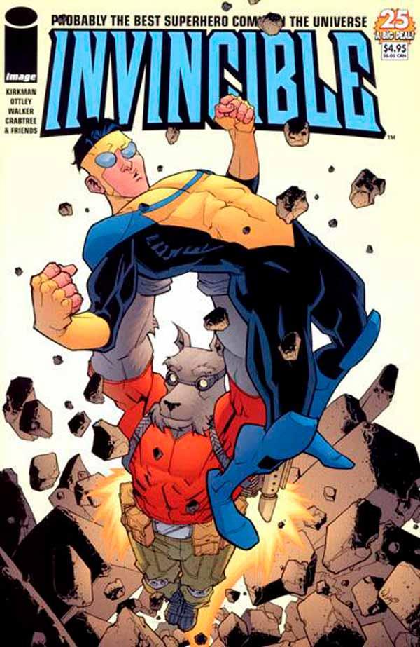 Неуязвимый (Invincible) #25 читать скачать комиксы онлайн, Марк Грейсон Непобедимый комиксы онлайн