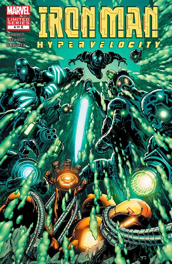 Iron Man: Hypervelocity (2007) #4, Железный Человек: Гиперскорость #4 читать комиксы онлайн