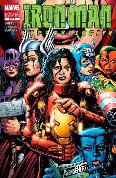 Iron Man: Hypervelocity (2007) #5, Железный Человек: Гиперскорость #5 читать комиксы онлайн