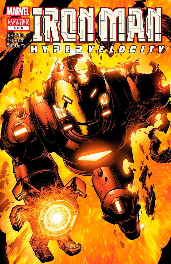 Iron Man: Hypervelocity (2007) #6, Железный Человек: Гиперскорость #6 читать комиксы онлайн