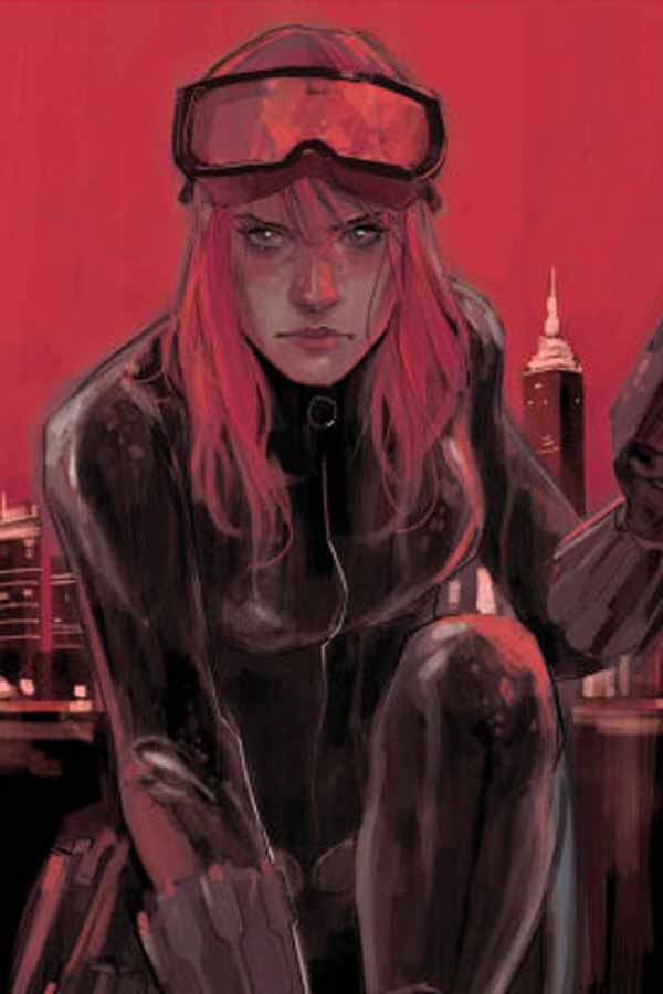 Black Widow, Наташа Романов, Чёрная Вдова биография персонажа комиксов