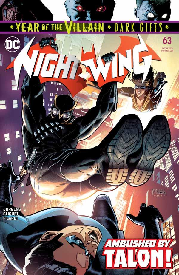 Найтвинг Том 4 #63, Nightwing Vol 4 #63 читать скачать комиксы