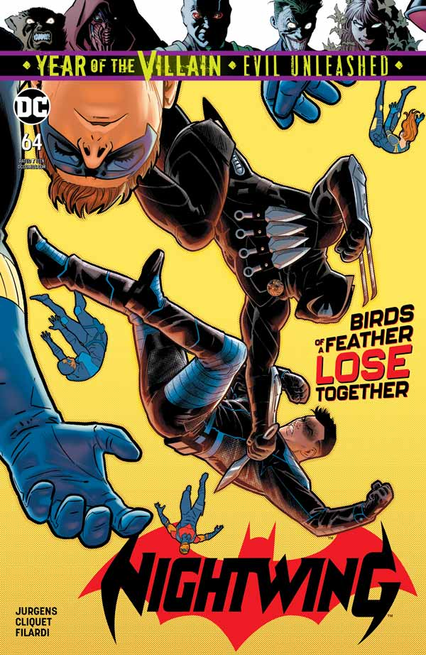 Найтвинг Том 4 #64, Nightwing Vol 4 #64 читать скачать комиксы