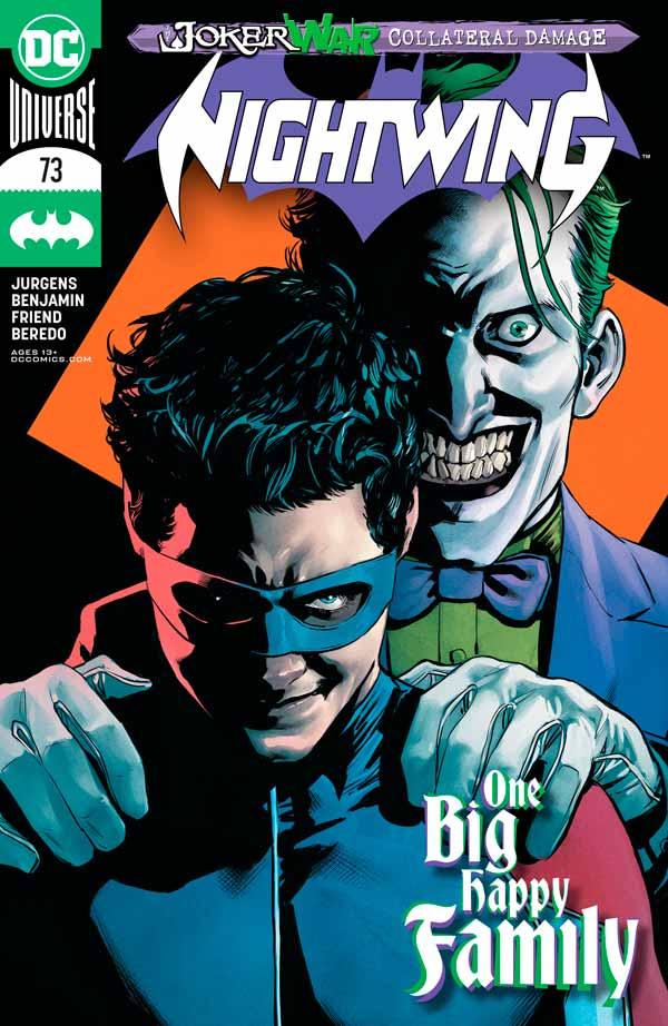 Найтвинг Том 4 #73, Nightwing Vol 4 #73 читать скачать комиксы